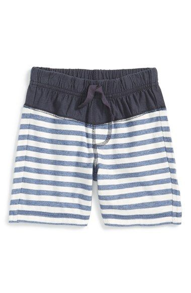 Tea+Collection+'Nautical+Stripe'+Cotton+Shorts+(Baby+Boys)+available+at+#Nordstrom