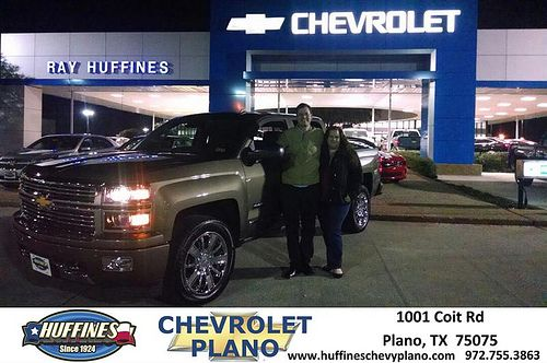 Thank you to Carlo Rivera on your new 2014 #Chevrolet #Silverado 1500 from Robert Szyka and everyone at Huffines Chevrolet Plano! #LoveMyNewCar