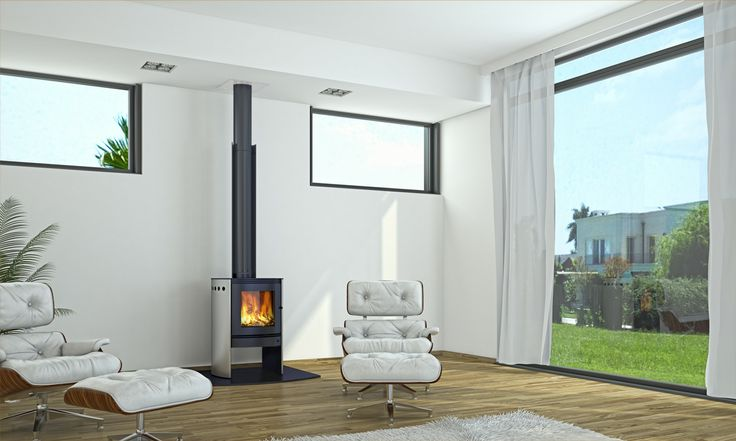 Clean living - demonstrated by the design and the clean air approved Bosca fireplace. #woodfire #fire #beautiful #inspiration #cleanliving