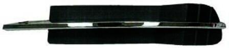2008-2012 Chevy Malibu Lower Outer Grille LH W/O Fog Lamp Malibu LS;LT