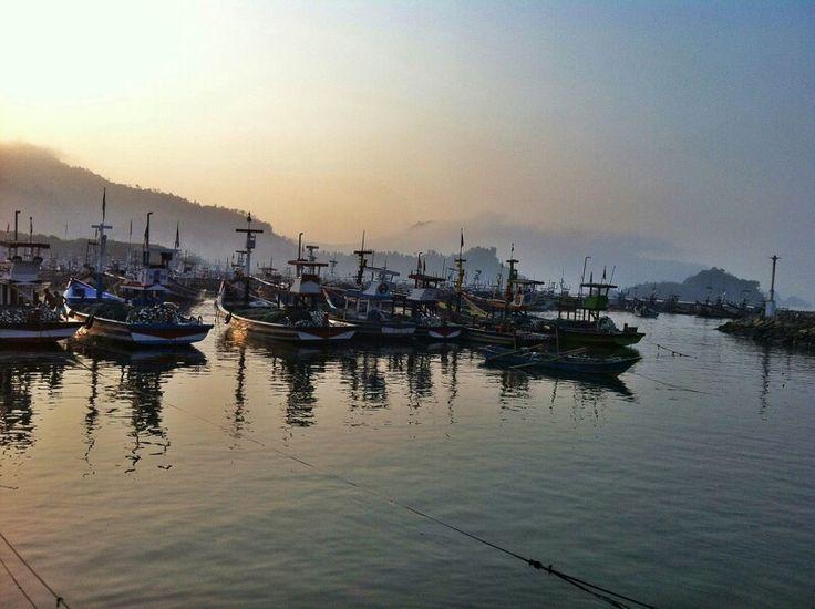 Pelabuhan Prigi, Jawa Timur, Indonesia