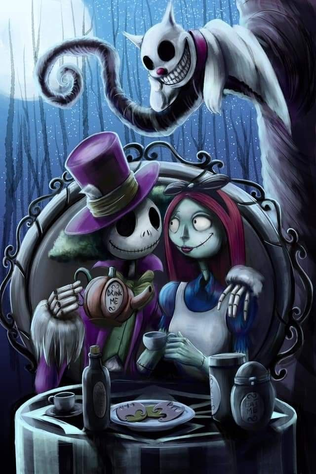 The Nightmare Before Christmas Nightmare Before Christmas Tattoo Nightmare Before Christmas Wallpaper Tim Burton Art