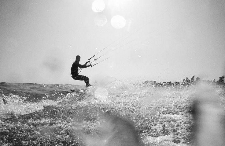 Light wind session with the BWS Noise Pro.