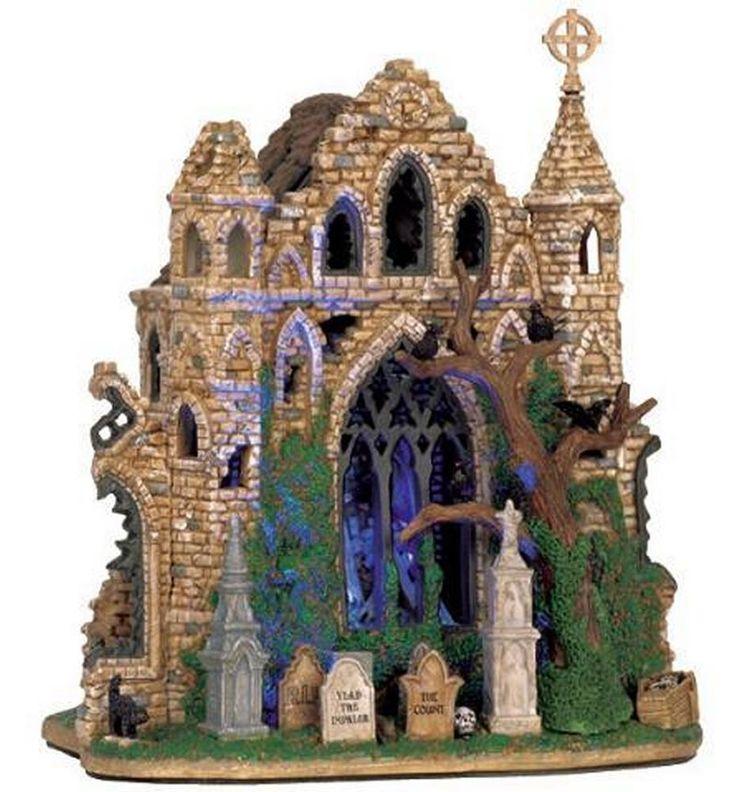 Lemax Spooky Town - Gothic Ruins - NIB #Lemax