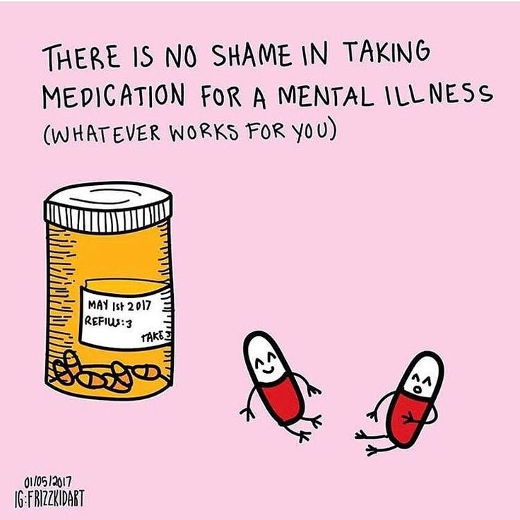 Do whatever works for you! Whether it's weed or pharmaceuticals or essential oils or whatever else! Treating mental illness is not a one-size-fits-all thing. We all react differently. Stick with what works for you and don't be shitty about what works for someone else! No stigma! No shame! (art by @frizzkidart) . . . #mentalhealth #mentalillness #meds