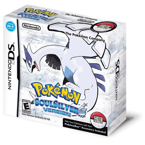 Limited Edition Pokemon SoulSilver with Lugia Figurine and Pokewalker Jacket  http://www.cheapgamesshop.com/limited-edition-pokemon-soulsilver-with-lugia-figurine-and-pokewalker-jacket/