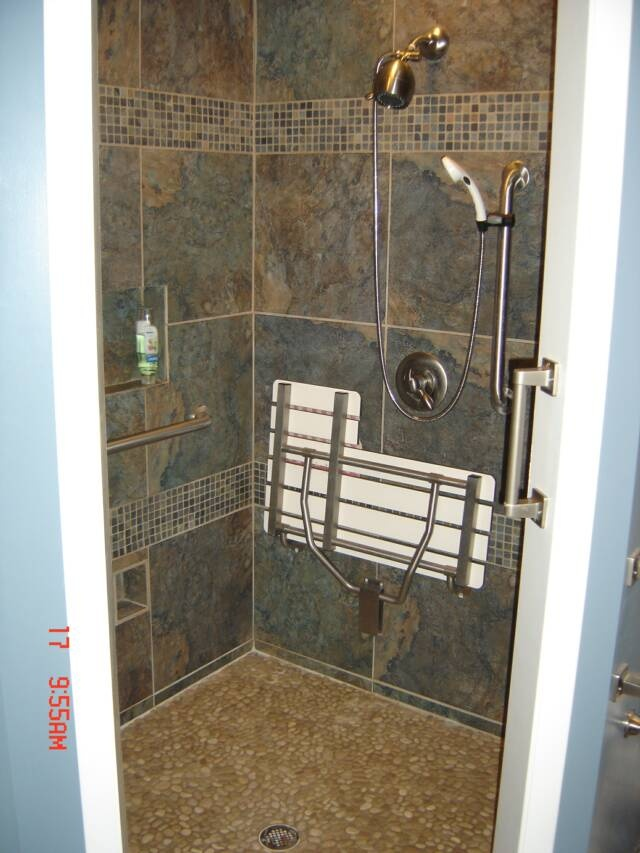 Ada Shower Ideas For Features New Small Bathroom