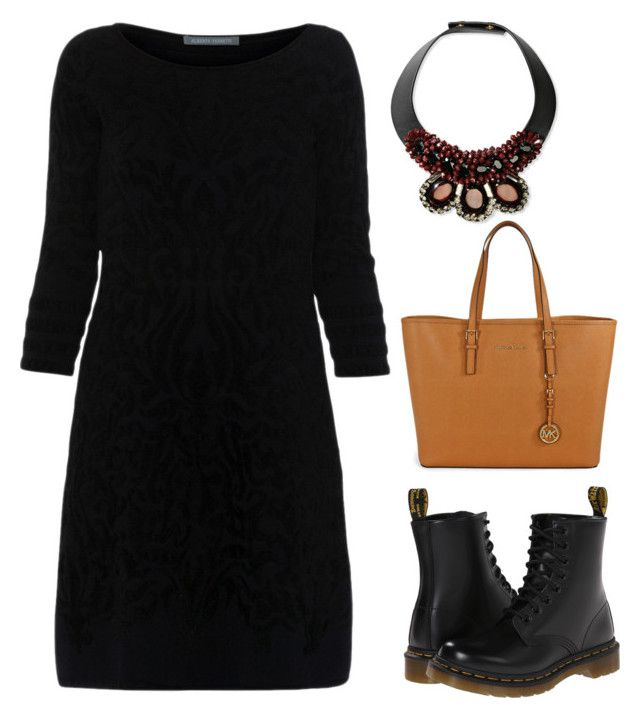 """""""R2"""" by laurrao on Polyvore featuring Alberta Ferretti, Dr. Martens, Marni and Michael Kors"""