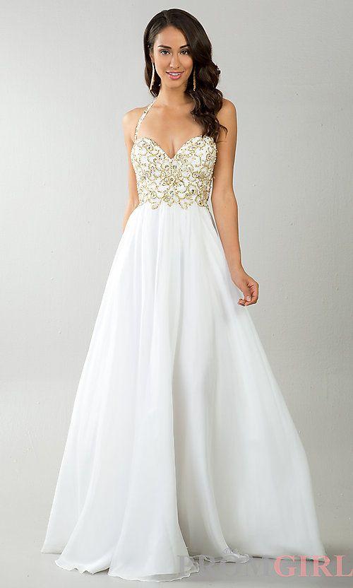 61 best Prom/Formal * White Dresses images on Pinterest | Prom dress ...