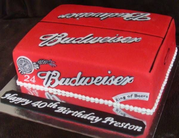 TBUDWEISER BEER | Budweiser Beer Cake