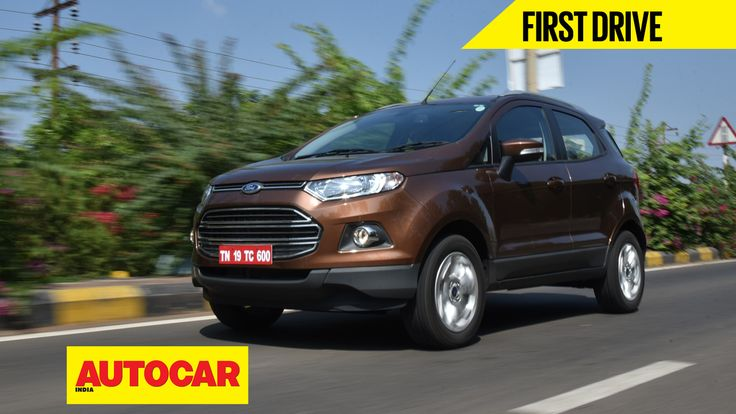 We drive the 2016 Ford EcoSport that gets a slight bump in power along with some other changes. Here's what we thought about it.