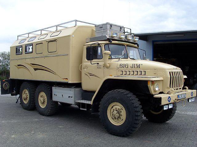 Truck Sonstige/Other URAL 4320 V 8 MOTOR 6X6 ALLRAD SHOW TRUCK CAMPER. Sale of trucks Sonstige/Other URAL 4320 V 8 MOTOR 6X6 ALLRAD SHOW TRU...