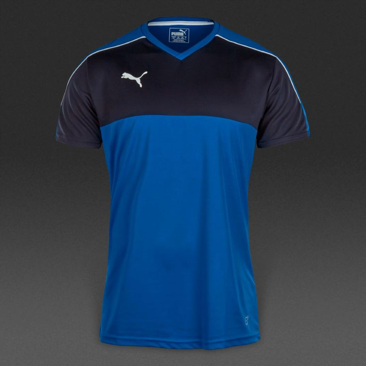 Puma Accuracy SS Jersey - Puma Royal-White