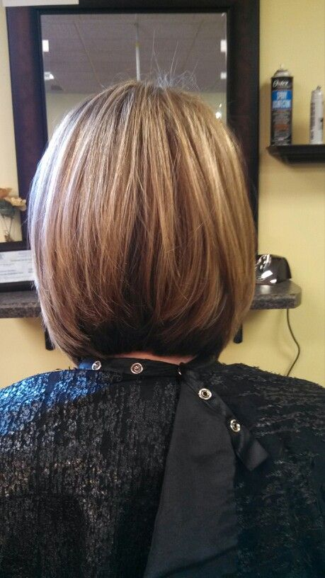 Long layered inverted Bob. If I ever cut my hair but it will still have to longer than this