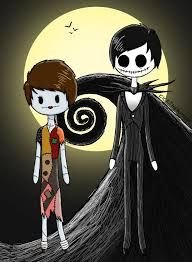 Thus would be the other way around Dan would be Jack and Phil would be Sally <<< um phil ligit became jack the skeleton in a video once
