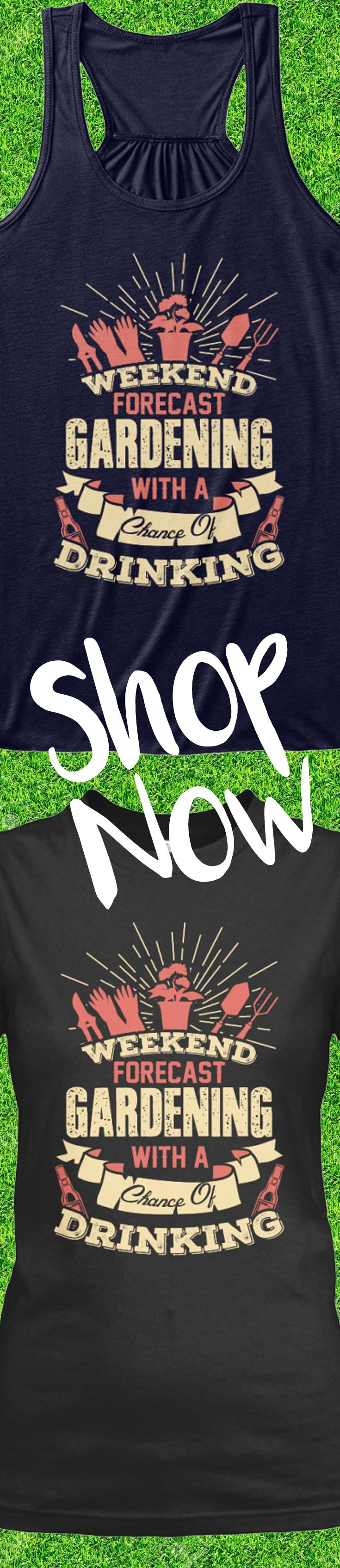 Love gardening?! Check out this awesome gardening t-shirt that you will not find anywhere else. Not sold in stores and only 2 days left for free shipping! Grab yours or gift it to a friend, you will both love it