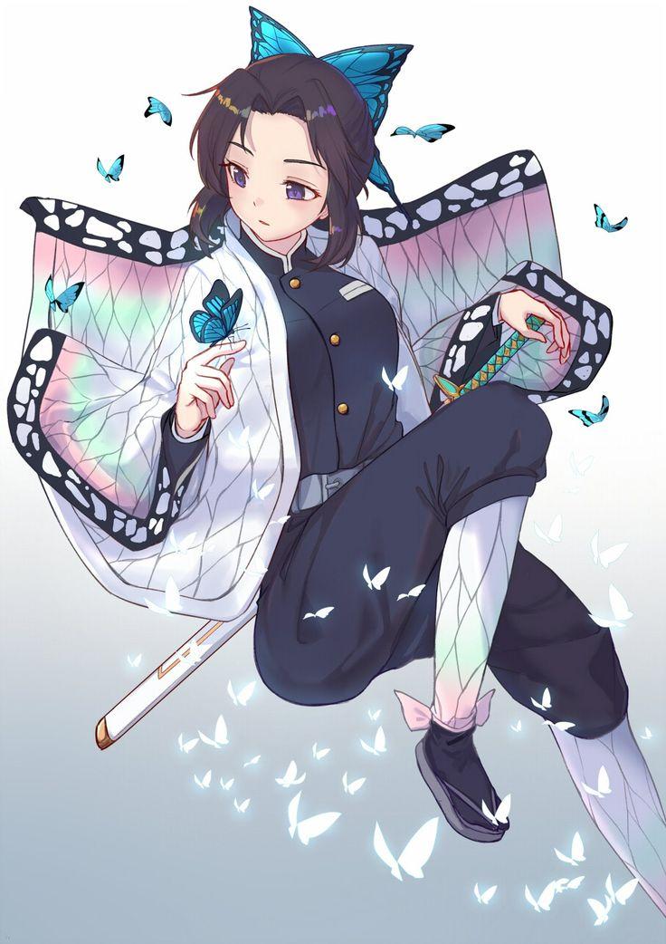 Shinobu, Kimetsu no Yaiba, by Itachi Kanade Anime