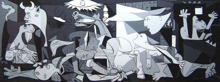 Guernica,1937 by Pablo Picasso