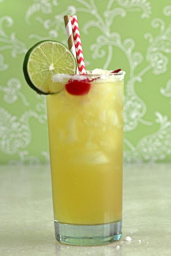 Ambience drink recipe with Mandarine Napoleon, cognac, vodka, orange juice and lime. http://mixthatdrink.com/ambience/