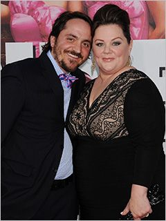 Did anyone else know that Melissa McCarthy's real life husband was the Air Marshal?