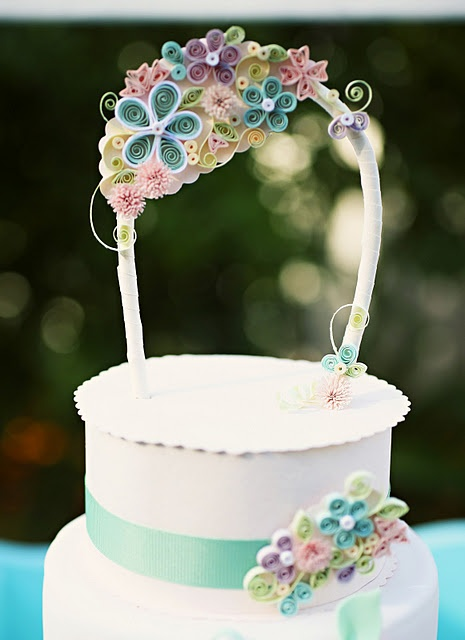 Best 25+ Quilling Cake ideas on Pinterest
