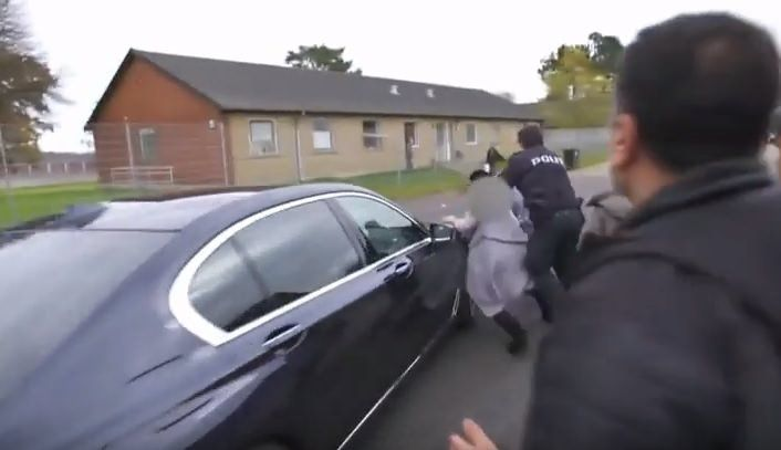 Not Helpful=> Danish Minister of Immigration Runs Over Immigrant (Video)