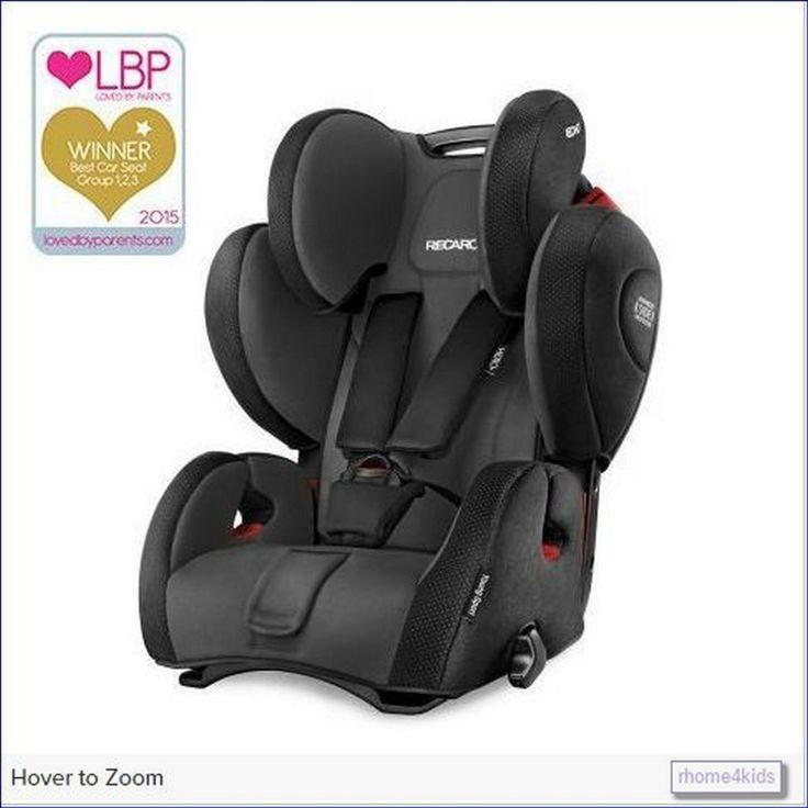 Recaro Sport, Infant, Baby,Universal Maxi Cosy,Convertible Safety Car Seat Black