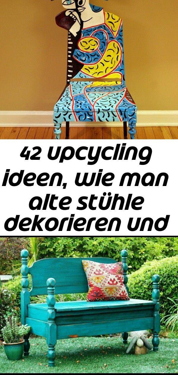 Alte Stuehle Dekorieren Alte Moebel Aufpeppen Upcycling Ideen Diy