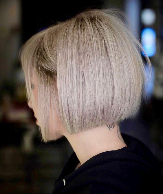Trendy Haarschnitte für kurze glatte Haare 2018 – Besten Haar Ideen