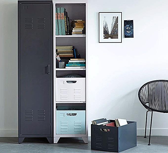 Armoire Vestiaire Americain 1 Porte En Metal Hiba Locker Storage Armoire Storage