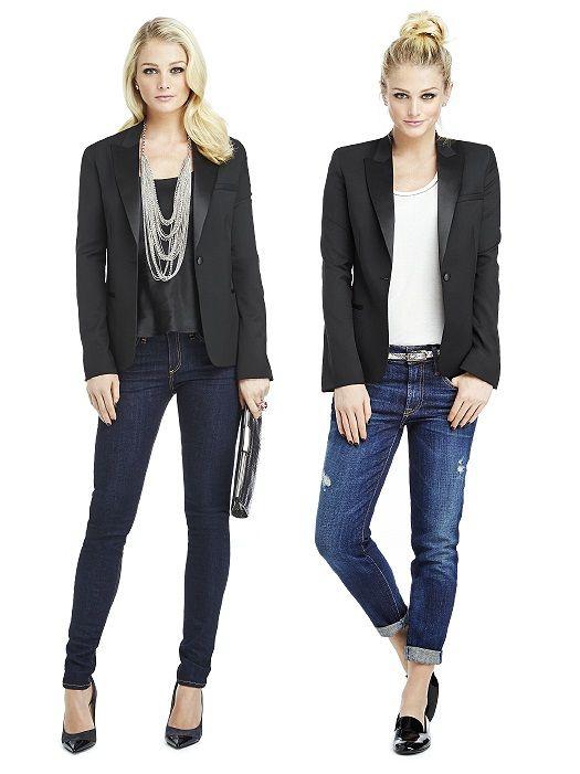 Marlowe Women's Tuxedo Jacket - Peak Collar http://www.dessy.com/tuxedos/marlowe-womens-tuxedo-jacket/#.VgLlH8tViko