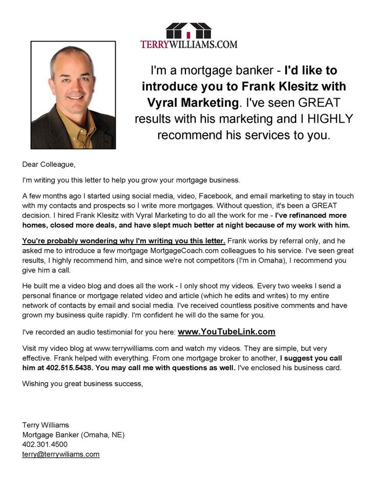 Real Estate Introduction Letter Sample Vmore Info About