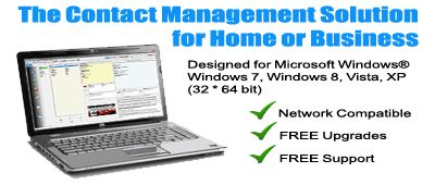 The best home and business contact management software is very easy and efficient to manage all the contacts and important dates too.