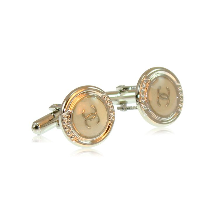 Eternally elegant, these Coco cufflinks are made from solid brass with rhodium and enamel plating. The rhodium ensures a tarnish-free appearance unlike similar cufflinks made from nickel or sterling silver. The jewellery's brass construction and moulded fastening clasp will remain solid and firmly attached for the lifetime of your cufflinks. Expect to enjoy these for the next 20 years! http://www.byariane.com.au/Cufflinks-Coco