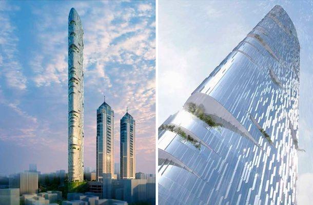 A Imperial Tower também terá painéis fotovoltaicos, aproveitamento de águas pluviais e reúso de água, uma característica muito importante dada a falta de água na região. Os andares de todos os condomínios superior oferecem a vista para o Mar da Arábia.