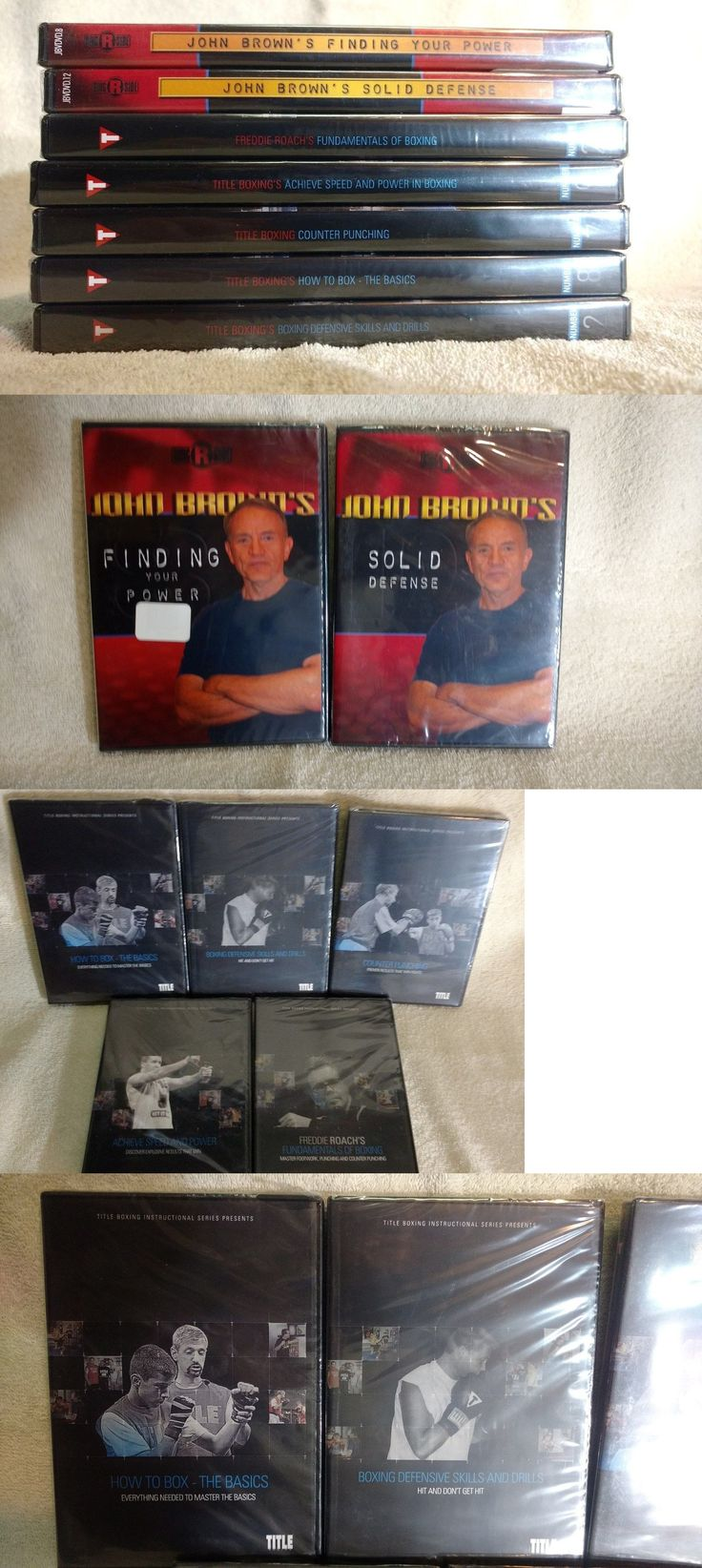 DVDs Videos and Books 73991: Freddie Roach And John Brown Title Boxing Training Dvd Set Lot (7) New -> BUY IT NOW ONLY: $72.5 on eBay!