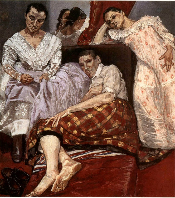 Paula Rego. The Company of Women, 1997. Pastel on paper mounted on aluminium, 170 x 130 cm