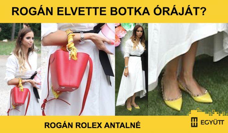 """""""Rogán Cecíliáról készült fotót tett közzé Facebook-oldalán Juhász Péter, az Együtt elnöke. A bejegyzésben felidézte, hogy több Fidesz-közeli lap is azzal az indokkal ment neki Botka Lászlónak, az MSZP miniszterelnök-jelöltjének, hogy milliókat érő Rolex órája van. """"Most szólt valaki, hogy egy eseményen látta Rogán feleségét, aki egy ugyanilyen Rolex Datejustot viselt, annak is a fehérarany csatos változatát. Ez az óra 2,5 millió forintba kerül újonnan. Passzol hozzá a surranója, ami egy…"""