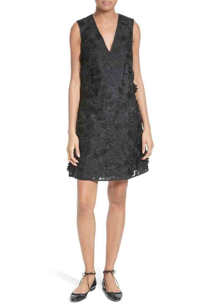 0a53735d6fbd5 Ted Baker Soniah 3D Dress BLACK Size 4  71  fashion  clothing  shoes   accessories  womensclothing  dresses (ebay link)