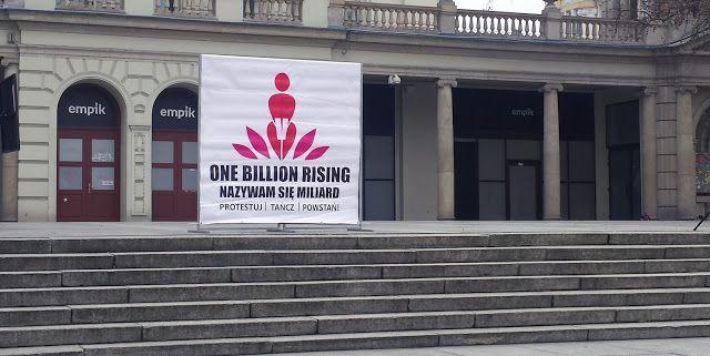 Instrukcję Poproszę: Miliard/ One Billion Rising Poznań - Fotorelacja