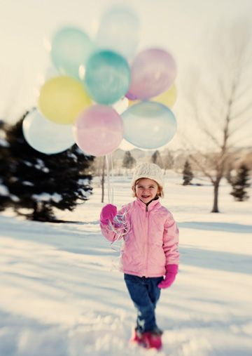 Winter birthday party ideas for kids...perfect for my Anna bug! ****nice picture