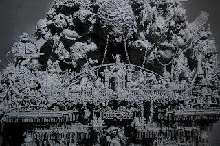 Steve Korkis art: Ares Provides while Aeacus Receives primer white