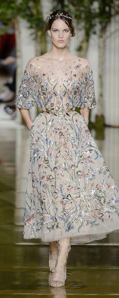Zuhair Murad Fall-winter 2017-2018 - Couture - http://www.orientpalms.com/Zuhair-Murad-6838 - ©️️ImaxTree