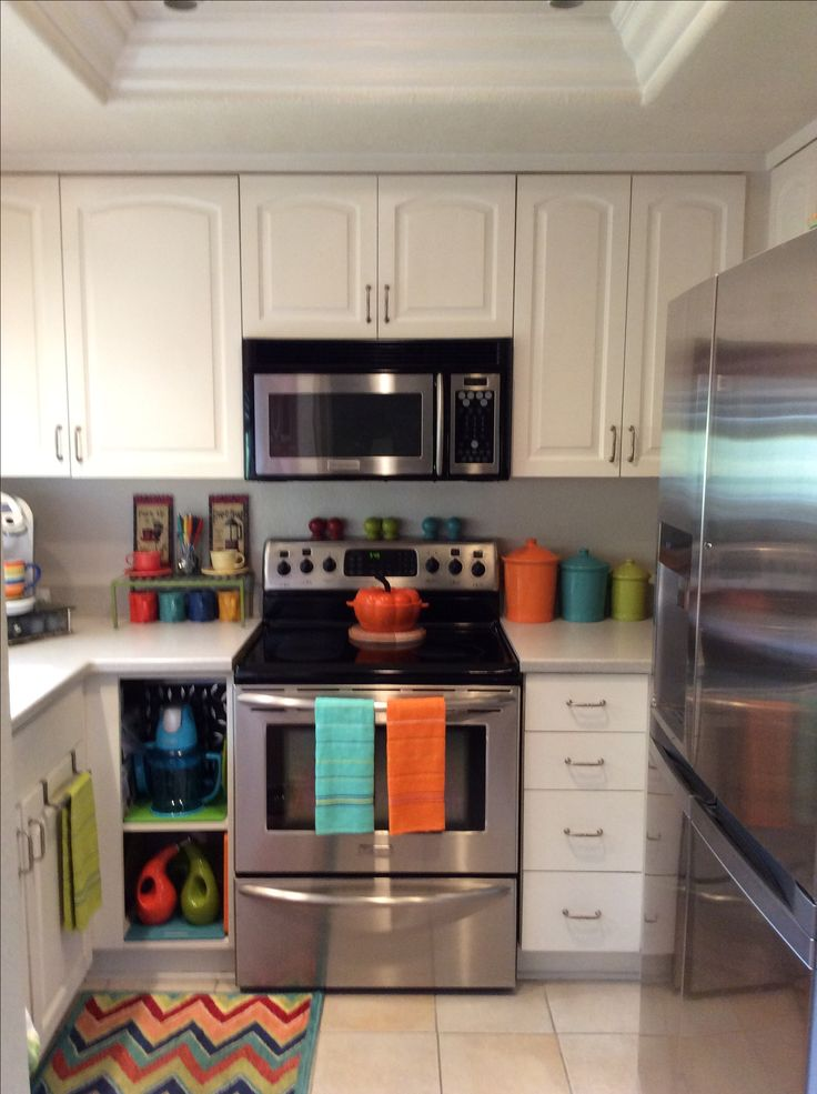 Bright Color Kitchen Decor Colorful Design 44