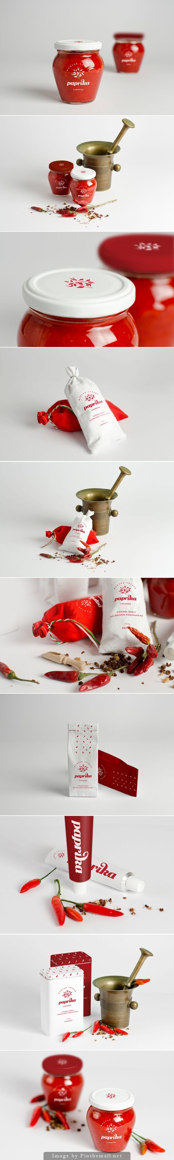 Paprika packaging design