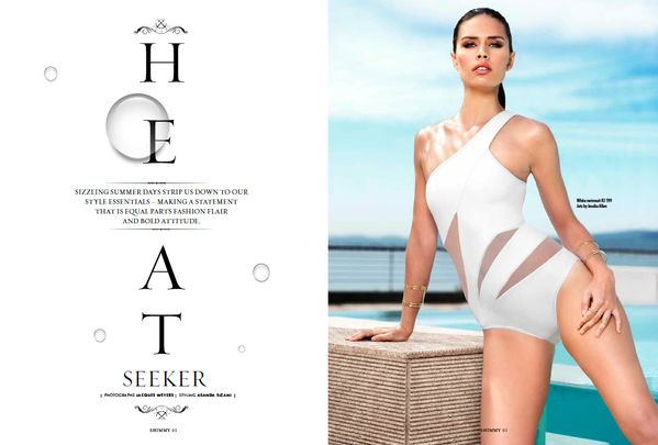 "ARTICLE: Take a peek at our fashion feature ""Heat Seeker"". Visit us, get your copy of our #ShimmyStyle mag & read on"