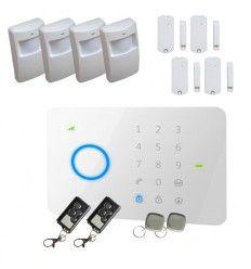 Alarme Maison sans fil GSM 4/5 pièces