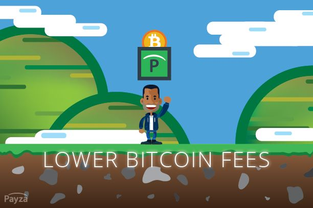 Payza Lowers Bitcoin Transaction Fees
