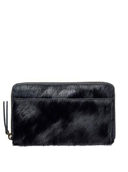 Status Anxiety - Delilah Wallet - Black  $99.00