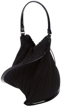 Pleats Please By Issey Miyake twisted pleated clutch